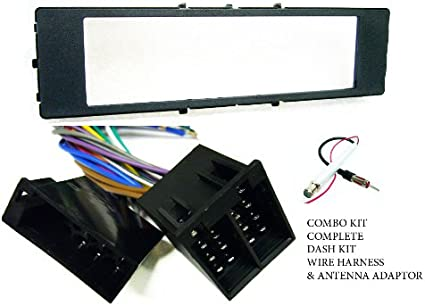 amazon.com: carxtc car radio intallation parts fits audi a4: 96 97 98 99 /  a6: 96 97 98 99 / a8: 96 97 98 99 / tt coupe 00 01 03 03 04 05 06 - stereo  wiring harness, dash kit, fm antenna adapter: car electronics  amazon.com