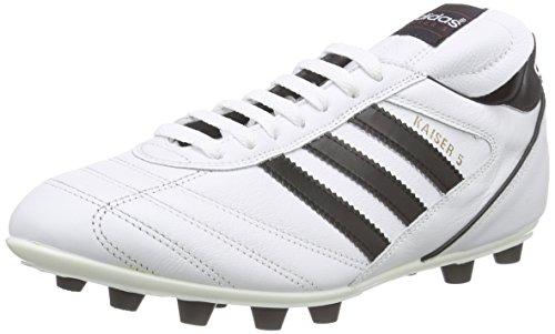 adidas Kaiser 5 Liga, Scarpe Da Calcio Da Uomo Bianco (Ftwr White/Core Black/Core Black)