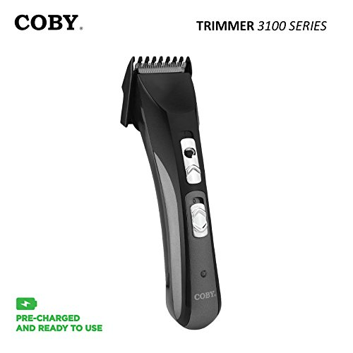 COBY MAX Series Rechareable Adjustable Hair & Body Groomer