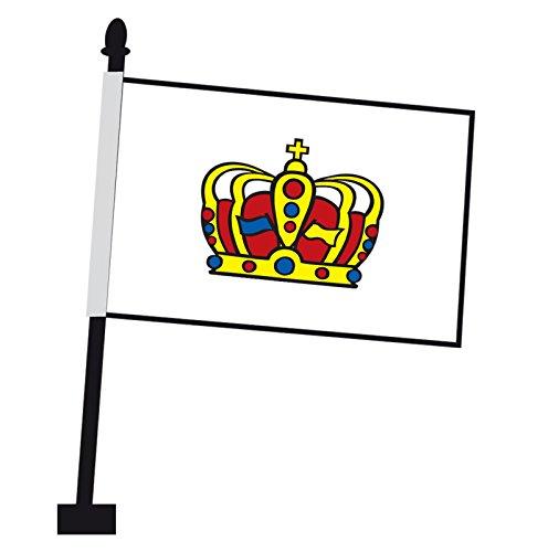 Flagge und Fahne 30 x 45cm K/önigsbanner Autoflagge Landkreis Fulda