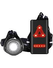 JUNSHUO LED Borstlamp - Hardloop Verlichting - Hardloopaccessoires - USB Oplaadbaar - Body Light - One Size - Hardloopvest - Jogging Reflectie Vest - Waterdicht - 3 Standen Voor Heren en Dames