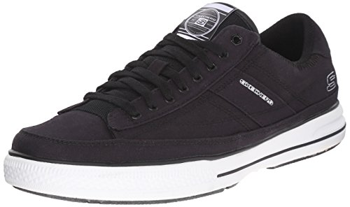 Skechers Sport Mens Arcade Chat Mf Fashion Sneaker Nero / Bianco