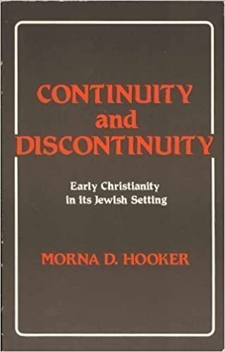 Continuity and Discontinuity Early Christianity
