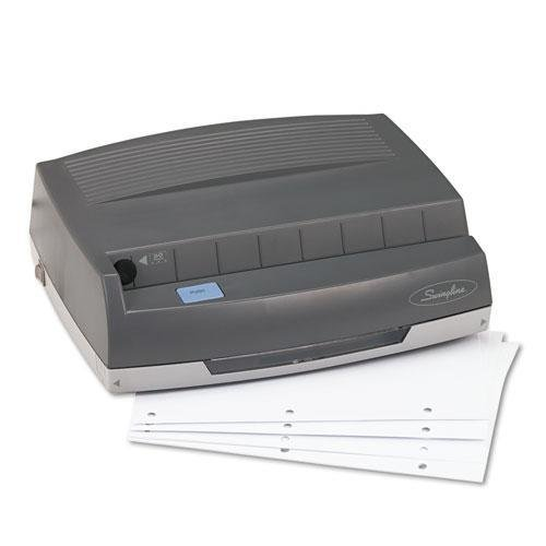SWI9800350 - Swingline 50-Sheet 350MD Electric Three Hole Punch by Swingline