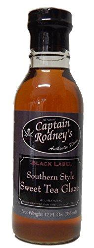 Captain Rodney's Black Label Southern Style Sweet Tea Glaze,12.0 Fluid Ounce - Finest Reserve Port