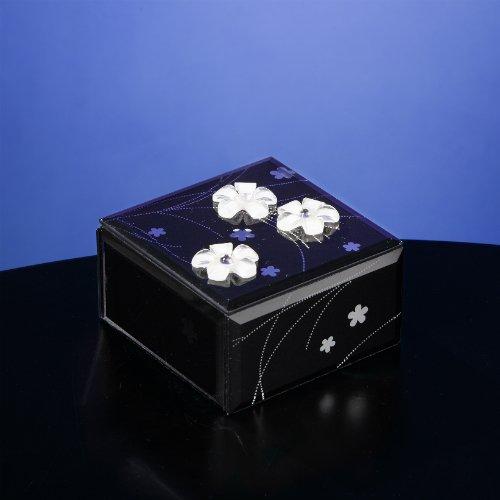 注文割引 B008D50IR4ミッドナイト優雅ガラス音楽ボックス B008D50IR4, 越後新潟 ギフトショップハクシン:73d80181 --- arcego.dominiotemporario.com