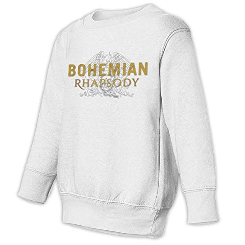 Romantic Fish Toddler Juvenile Bohemian-Rhapsody Movie Crew Neck Sweatshirt White 2T