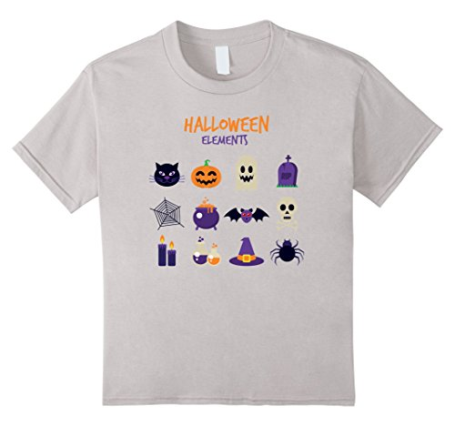 Kids Halloween Elements shirt Funny for Halloween Costume tshirt 4 (Four Element Costumes)
