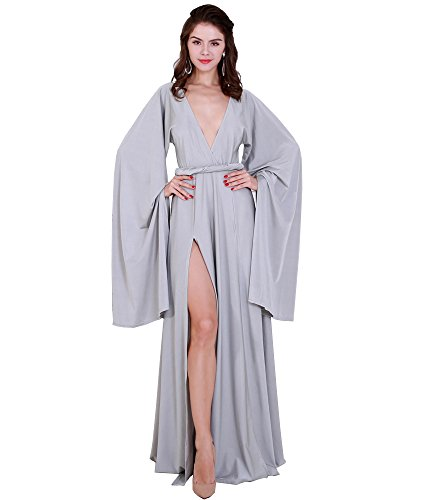 Missord - Vestido - Noche - Manga Larga - para mujer gris