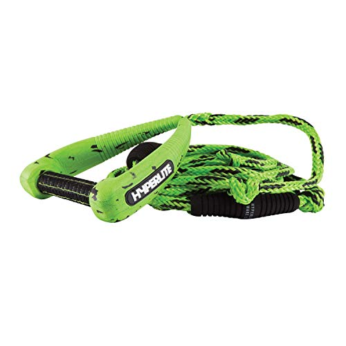 Hyperlite 25' Pro Surf Rope with Handle Wakeboard Waterski Green (Rope Surf Tow)