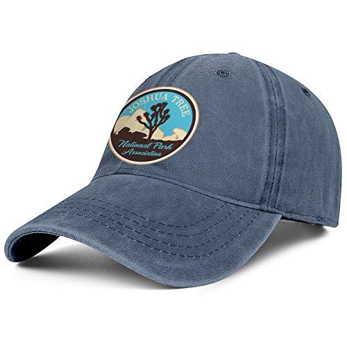 Unisex Men Adjustable Joshua Tree National Park Baseball Cap Cute Father.Leisure Hats