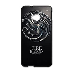 DAZHAHUI Fire Blood Hot Seller Stylish Hard Case For HTC One M7