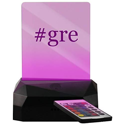 #gre - Hashtag LED USB Rechargeable Edge Lit Sign