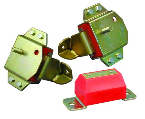 Prothane 6-1905 Red Motor and Transmission Mount Kit