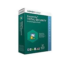 Kaspersky Total Security 2018, Multidispositivos, 3 Usuarios, 1 Año