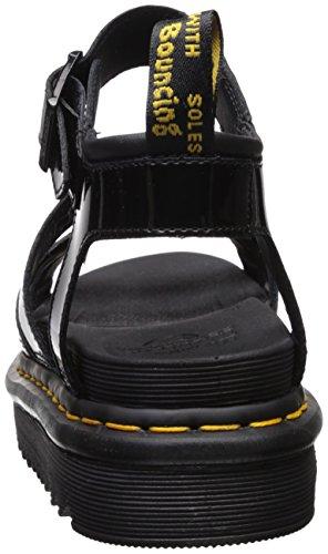 Dr. Martens Women's Blaire Patent Leather Fisherman Sandal