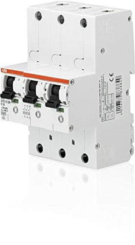 / Circuit Breakers 230/ /–/ 400, 50/ A, 27/ mm, 92/ mm, 130/ mm, 1.05/ kg ABB S751//3dr-e50/ cb-Type 3P Circuit Breaker/