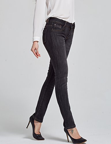 Fit Slim Gris Franela 828 Camii Mujer 5 de para Jeans Mia Linning UtWcUEnRwq