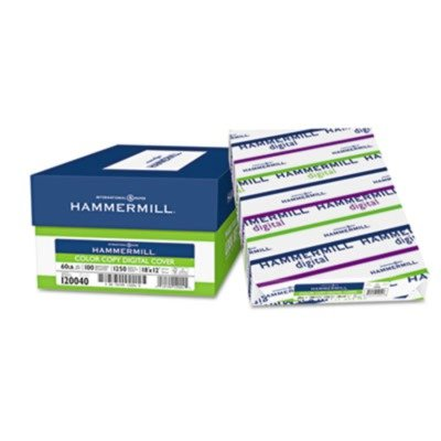 Hammermill Products - Hammermill - Color Copy Cover Stock, 60lb, 98 Brightness, 18 x 12, White - Sold As 1 Pack - Certain to create a vivid first impression. - Same formulation as the Hammermill Color Copy Paper to ensure your signs or presentation covers