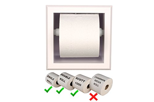 Adhesive Toilet Paper Roll Holder