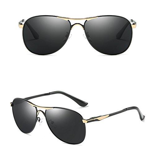 lunettes polarisé ont hommes de soleil conducteur Les Couleur A de soleil lunettes léger B Lunettes des de le yeux de conduisant qnXTP