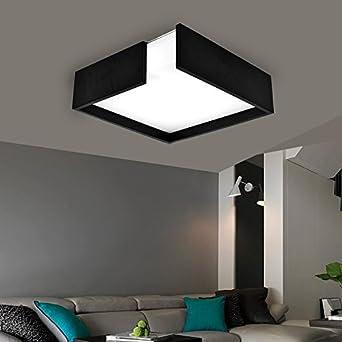 Fácil Led Moderna lámpara de techo multicolor colgante Flush Mount techo Leuchten araña decorativo para piso/escalera/dormitorio/comedor creativos – Lámpara LED de techo: Amazon.es: Iluminación