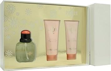 Paris By Yves Saint Laurent For Women. Set-edt Spray 2.5 Ounces Body Lotion 2.5 Ounces Shower Gel 2.5 Ounces