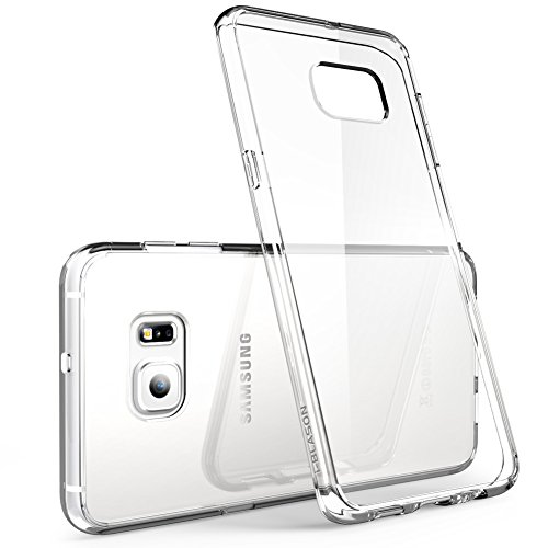 Galaxy S6 Edge Plus Case, i-Blason [Scratch Resistant] Halo Series Hybrid Clear Case / Cover with TPU Bumper for Samsung Galaxy S6 Edge Plus + (Clear (Scratch Resistant))