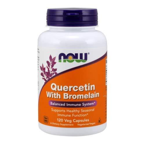 Now Foods Quercetin w/Bromelain (120 veggie caps) ( Multi-Pack)