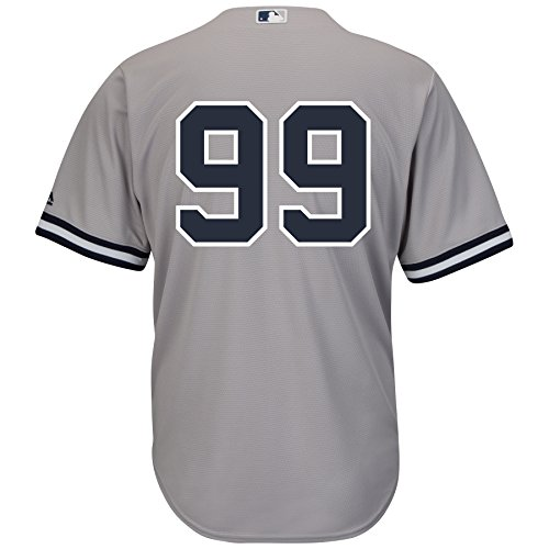 Aaron Judge New York Yankees Road Gray Cool Base Men's Jersey (Number Only) (XX-Large)
