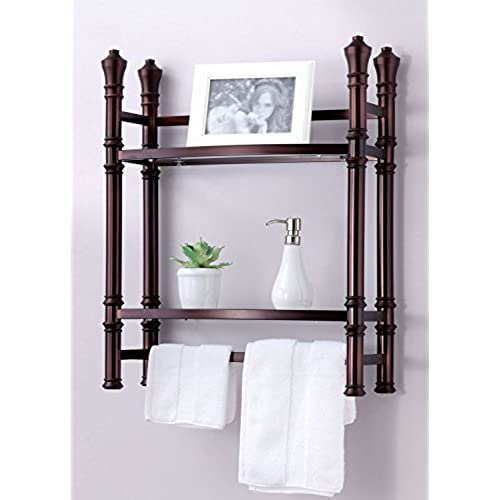Etonnant Best Living Monaco Wall Mount/Countertop Etagere Shelf, Oil Rubbed Bronze