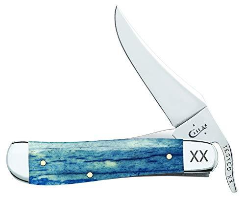 (Case Knives Unisex-Adult DISC Smooth Navy Giraffe Bone Russlock)