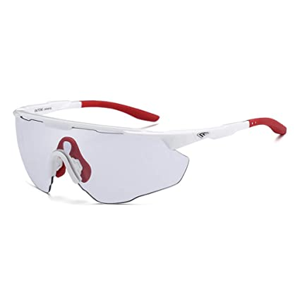 20d4509207b8b Amazon.com   SX-CHENG Sports Glasses- Motorcycle Goggles Padded ...