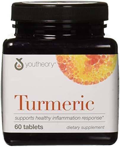 Youtheory Turmeric, 60 Count