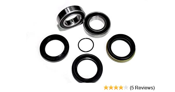 Rear Wheel Bearings and Seals Kit for Yamaha YFM660 Grizzly 2002 Wheels & Tires Wheel Accessories & Parts