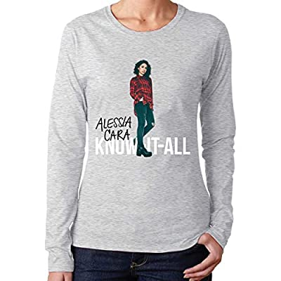 Alessia Cara Women's Ideal Long Sleeve T-Shirt Gray