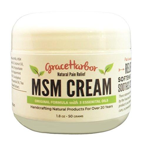 MSM Cream, Original Formula, 1.8-oz jar