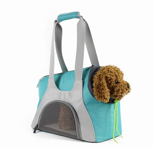 QNMM Bolso De Transporte para Perros Dog Carrier con Cómodo Cojín De Hombro Ajustable Y Lavable con Capacidad para...