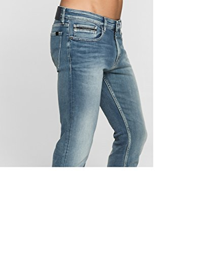 Light Klein True Blue Calvin Straight Jeans qtYxggdI