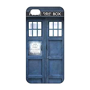 XUNIJI Doctor Who Tardis 3D Phone Case for iPhone 5s