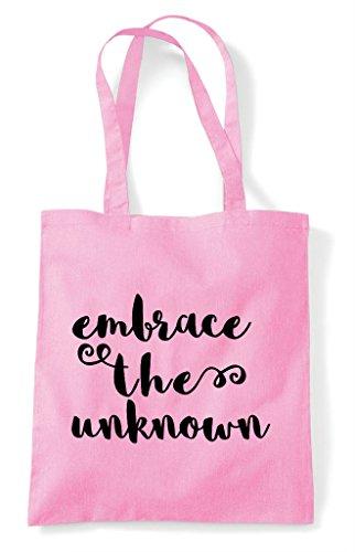 Shopper Bag Pink Light Unknown Tote The Statement Embrace XqxTw4U6