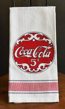 Coca Cola Script Tea Towels