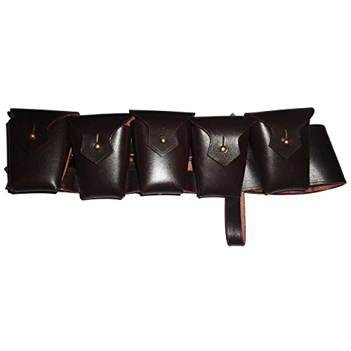 British P-1903 Leather Five Pocket Bandolier (British Bandolier compare prices)