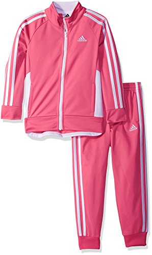 Price comparison product image adidas Tricot Jogger Set (Solar Pink, 18 Months)