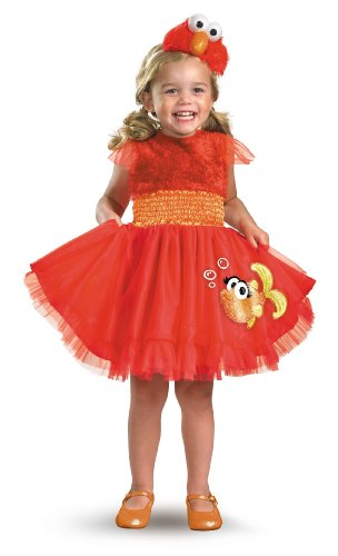Frilly Elmo Costume