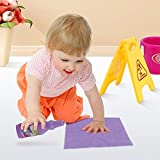 Liberty Imports Little Helper Pretend Play Kids Toy Cleaning Supplies Set with Mop, Bucket, and Accessories