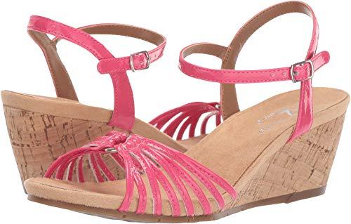 Aerosoles A2 Women's Fruit Cake Sandal, Pink Patent, 7 M - Aerosoles Pink Sandals