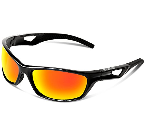 HODGSON Sports Polarized Sunglasses for Men or Women, UV400 Protection Unbreakable Sports Glasses for Cycling, Baseball, Riding, Driving, Running, Golf and Other Outdoor - High Tech Glasses