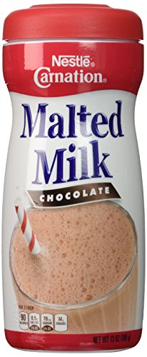 Nestle Carnation Malted Milk Chocolate Mix 13 ounces (Malted Cream Ice)