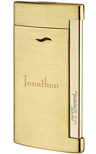 Personalized S.T. Dupont Slim 7 Shiny Chrome Lighter with Free Engraving by S.T. Dupont (Image #8)